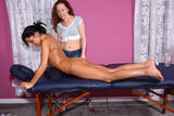 Leighlani Red & Tanner Mayes in Massage Therapy